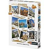 Nathan - 87774 - Puzzle - Villages de France - 1500 pièces