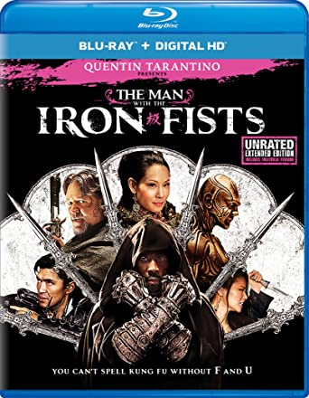 The Man With The Iron Fists Blu Ray Import Amazonca Cung Le