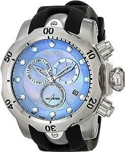 Invicta Men's 6118 Reserve Collection Chronograph Black Rubber Watch