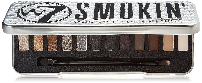 w7, Up in Smoke, Palette con 12 ombretti pigmentati illuminanti W7-140842