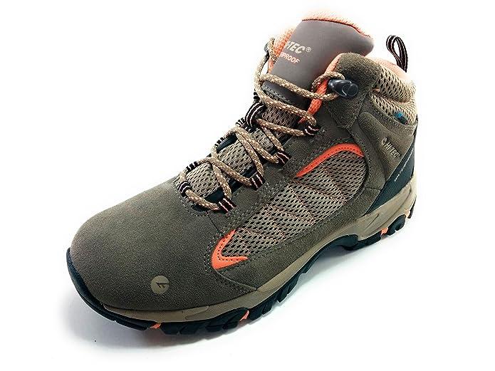 Hi-Tec Discovery WP Botas Montaña Mujer Waterproof: Amazon.es: Zapatos y complementos