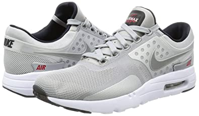 the latest fbe81 29b5a Image Unavailable. Image not available for. Colour  Nike Men s Air Max Zero  QS Metallic Silver ...