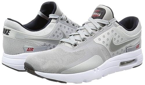 timeless design d4309 8fb29 Nike Air Max Zero 789695-002 - Sneaker, Metallic Silver, 40 EU