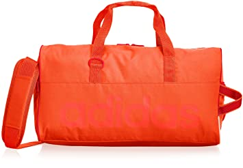 adidas 3 Stripes Performance Teambag Sporttasche Klein Grau, Orange