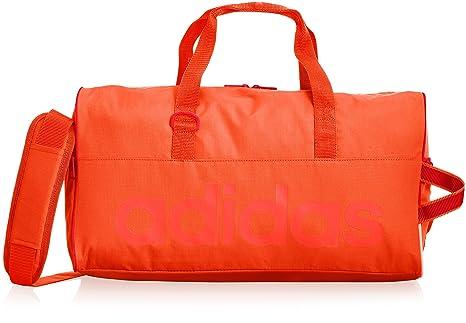 4f5f3c83c8 adidas, Borsa Sportiva Linear Performance, Arancione (Solar Red/Semi Solar  Red/