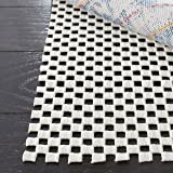 Safavieh Padding Collection PAD111 White Area Rug, 9 feet by 12 feet (9' x 12')