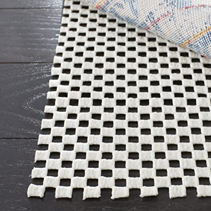 Safavieh Padding Collection PAD111 White Area Rug, 9 feet by 12 feet (9 x 12)