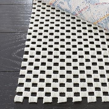 safavieh padding collection pad111 white round area rug 6 feet in diameter 6u0027