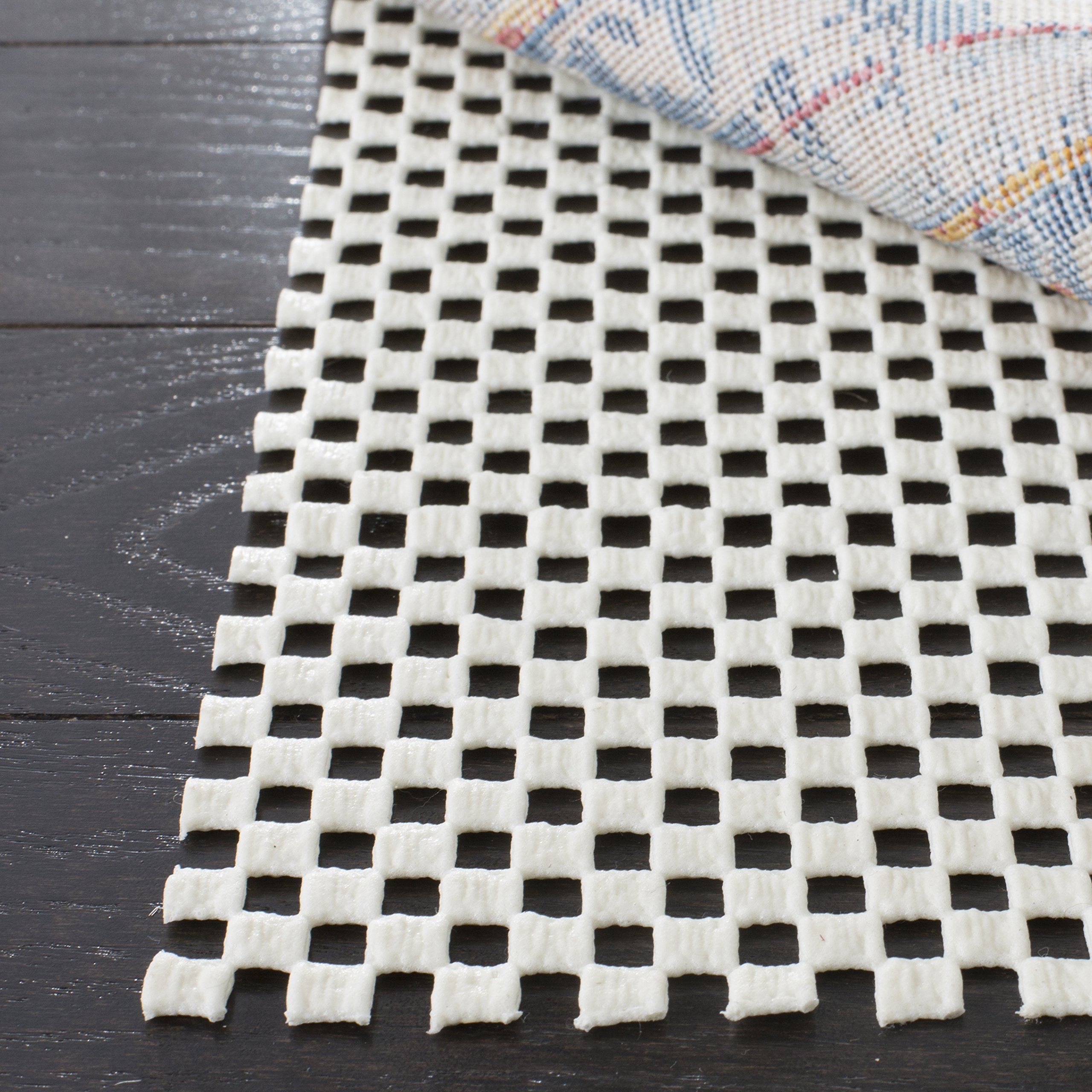 Safavieh Padding Collection PAD111 White Area Rug, 8 feet by 10 feet (8' x 10')