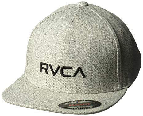 best website 08a86 06865 RVCA Men s Sport Flexfit HAT, Heather Grey ...