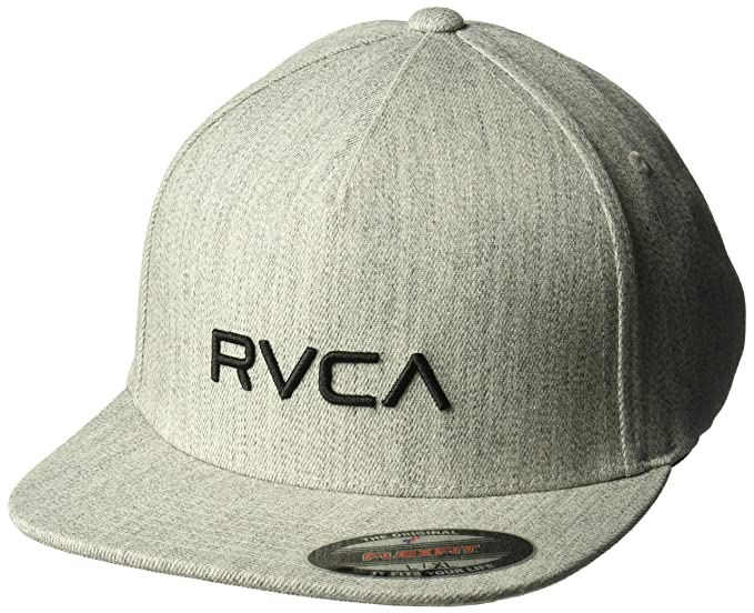 Amazon.com  RVCA Men s Sport Flexfit Hat  Clothing c8fc10208d9d