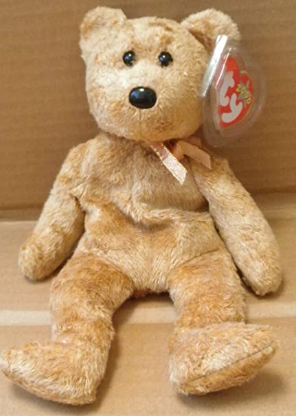 28c6b243110 Image Unavailable. Image not available for. Color  TY Beanie Babies Cashew  the Bear ...