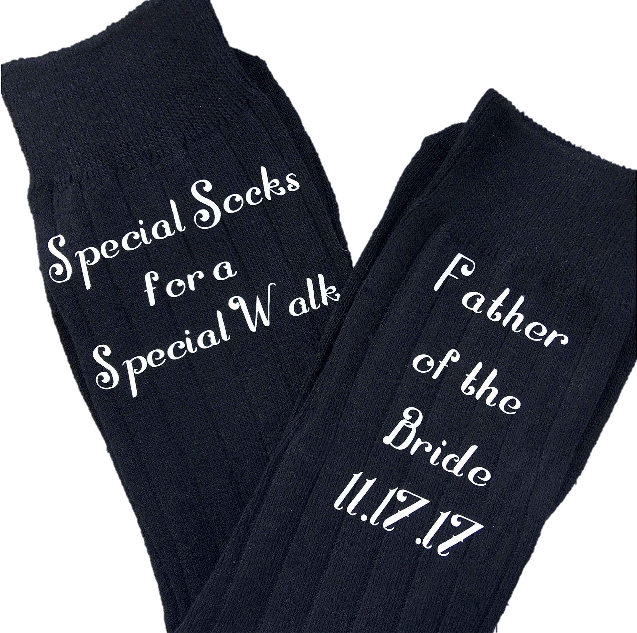 Father of the Bride Socks - Special Socks for a Special Walk - Gift for the Father of the Bride