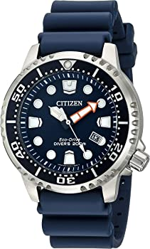 Citizen Men's Eco-Drive Promaster Diver Watch with Date (Blue)