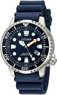 71ea803428ae Amazon.com  Citizen Men s Eco-Drive Brown Leather Strap Watch with ...