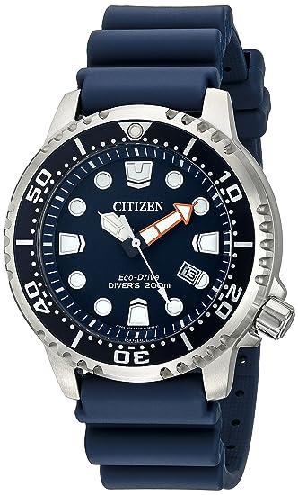 fa7f16c222be Amazon.com  Citizen Men s Eco-Drive Promaster Diver Watch With Date ...
