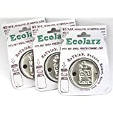 3pack Ecojarz Stainless Steel Drinktop for Regular Mouth Canning Jars