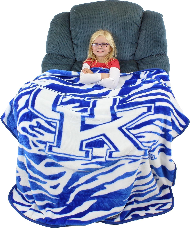 """College Covers Kentucky Wildcats Raschel Throw Blanket, 50"""" x 60"""""""
