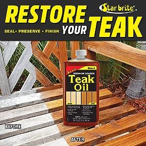 Star Brite Teak Oil Stain
