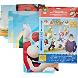 Super Mario Happy Birthday Giant Scene Setters Wall Decorating Kit Party Backdrop