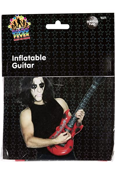 Smiffys - Inflable Guitarra Hinchable, Multicolor (9371 ...