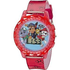 Nickelodeon Kids PAW4006 Paw Patrol Digital Display Quartz Red Watch
