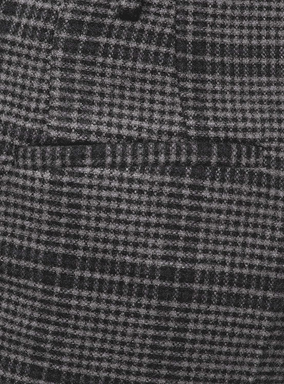 oodji Collection Donna Pantaloni a Quadri in Tessuto Spesso