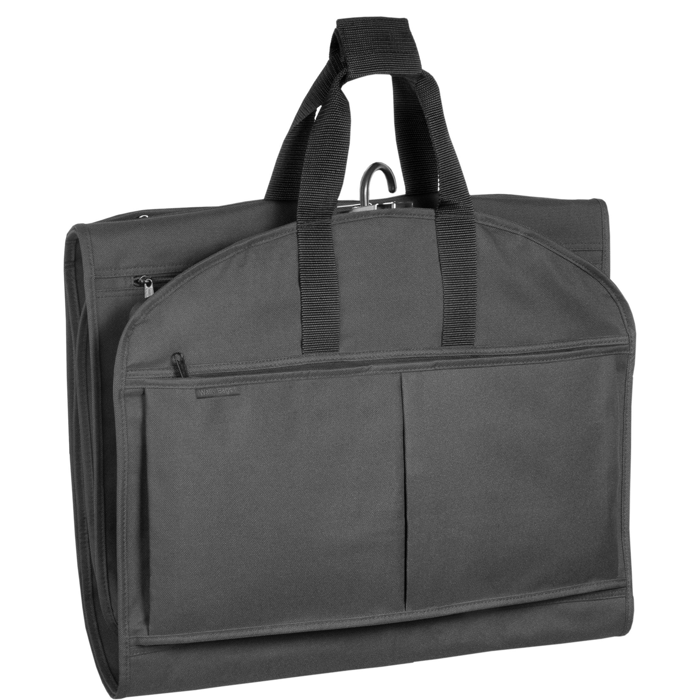 WallyBags 52-inch GarmenTote Tri-Fold Garment Bag with Pockets