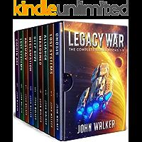 Legacy War: The Complete Series Books 1-9 (John Walker Box Sets)