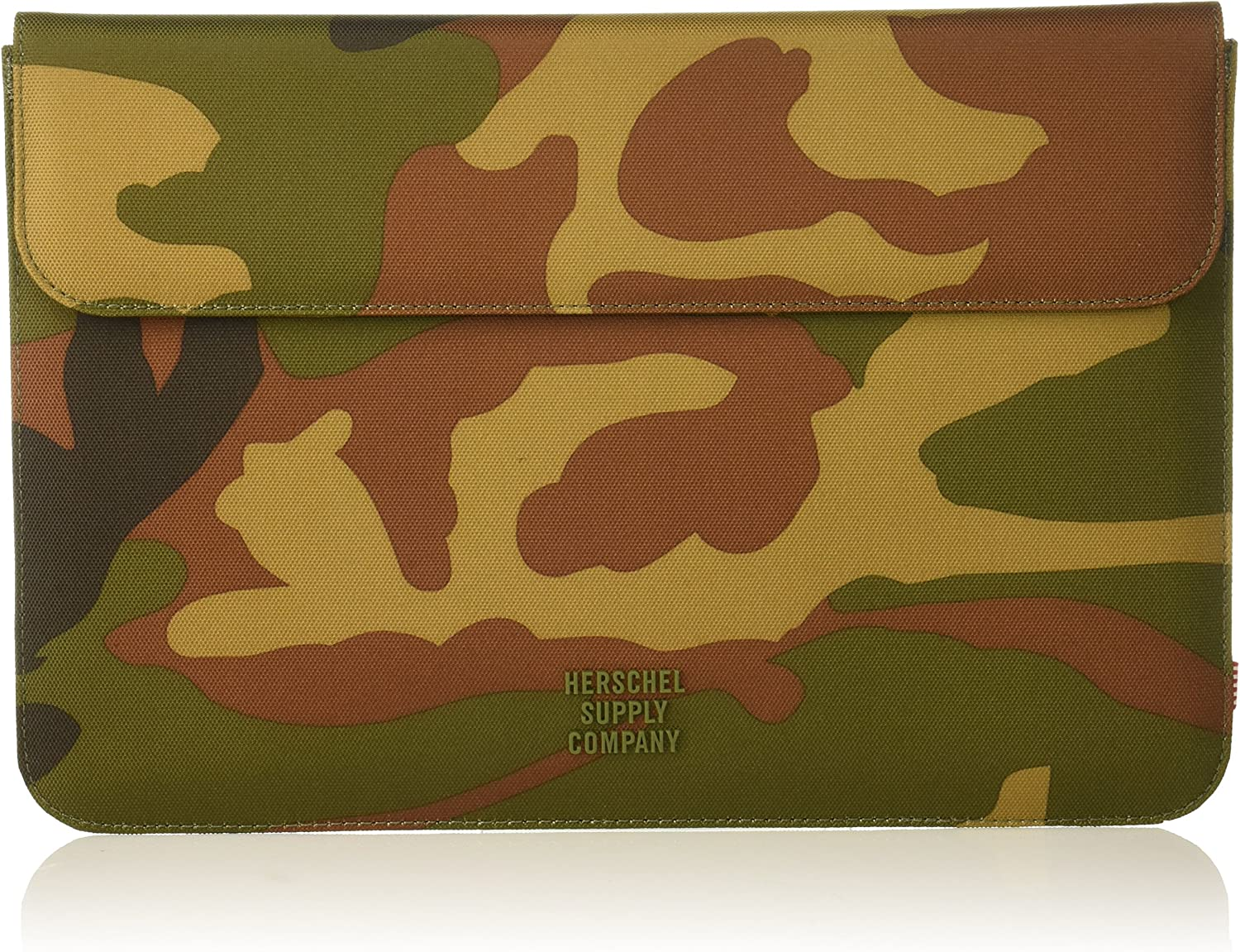 Herschel Spokane Sleeve for MacBook/iPad, Woodland Camo, 12-Inch