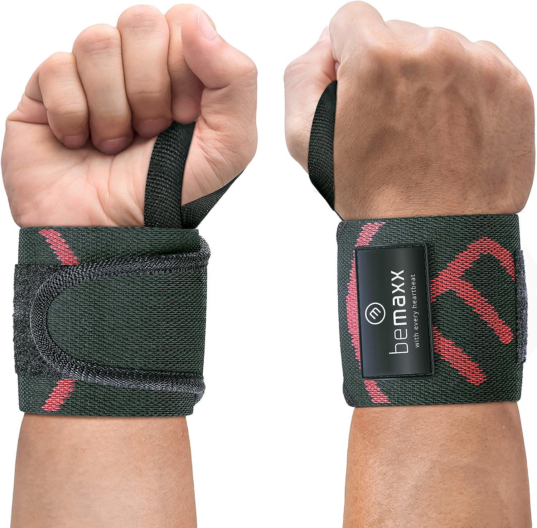 Muñequeras Deportivas Gym Profesionales - 2 Wrist Wraps Straps ...