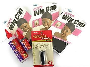 Amazon hair weaving kit hair extinsions sewing kit hair hair weaving kit hair extinsions sewing kit hair glue wig cap needles pmusecretfo Choice Image