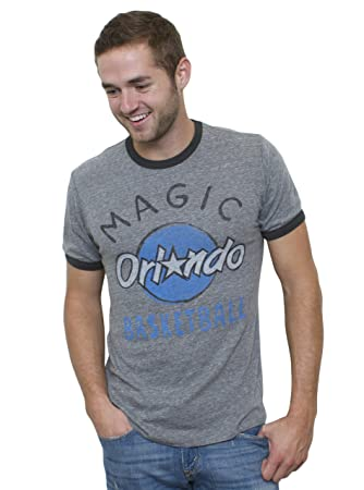 Junk Food NBA Orlando Magic Vintage tri-blend – Camiseta de manga corta para timbre