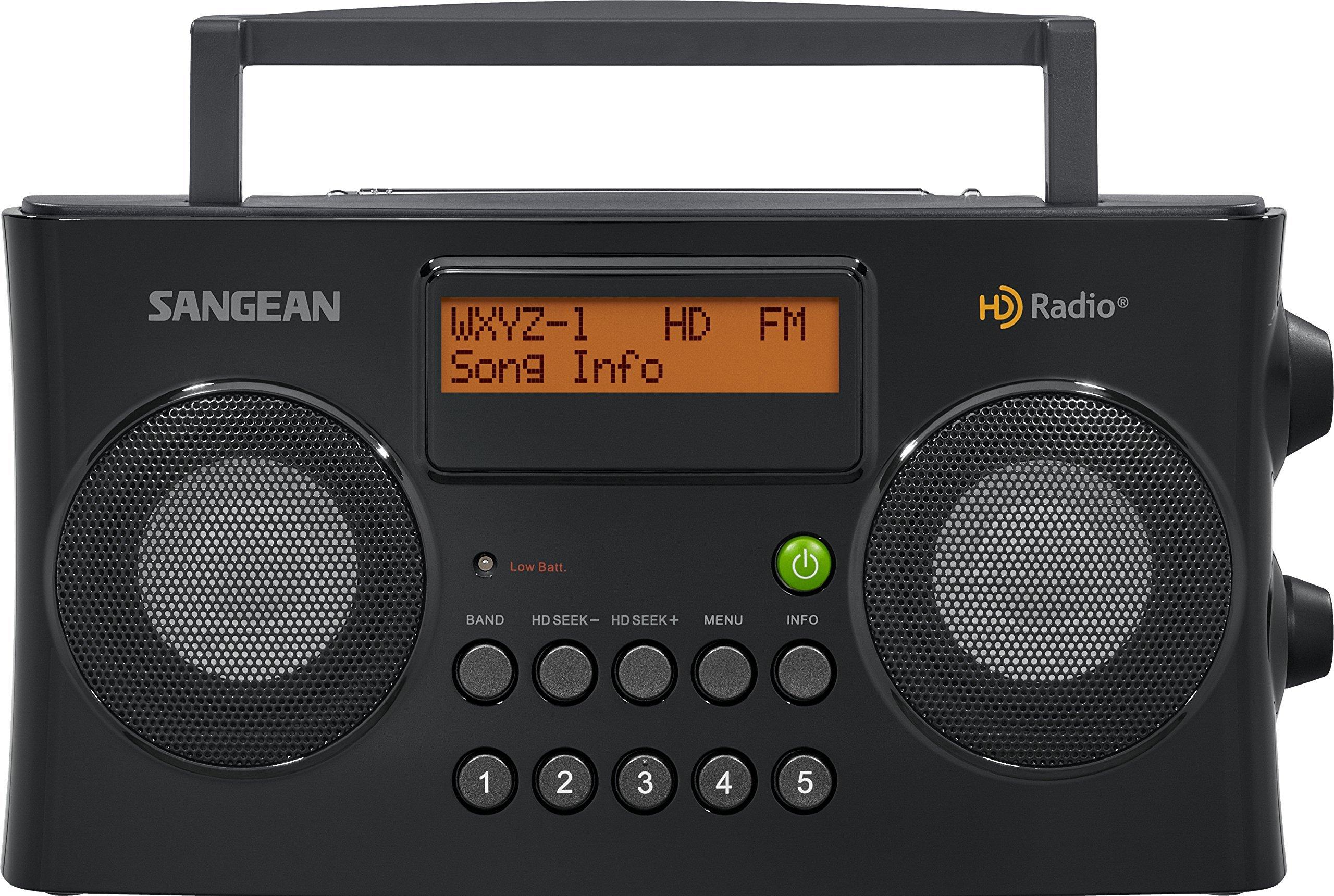 Sangean HDR-16 HD Radio/FM-Stereo/AM Portable Radio (Certified Refurbished)