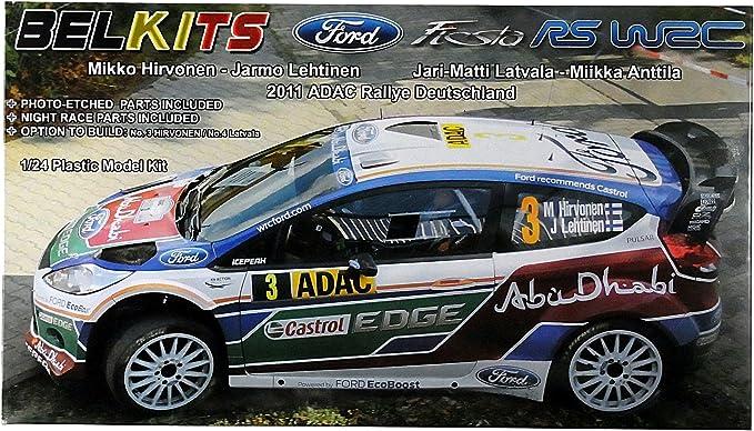 Ford Fiesta WRC Bel 1/24 Kit: Amazon.es: Juguetes y juegos