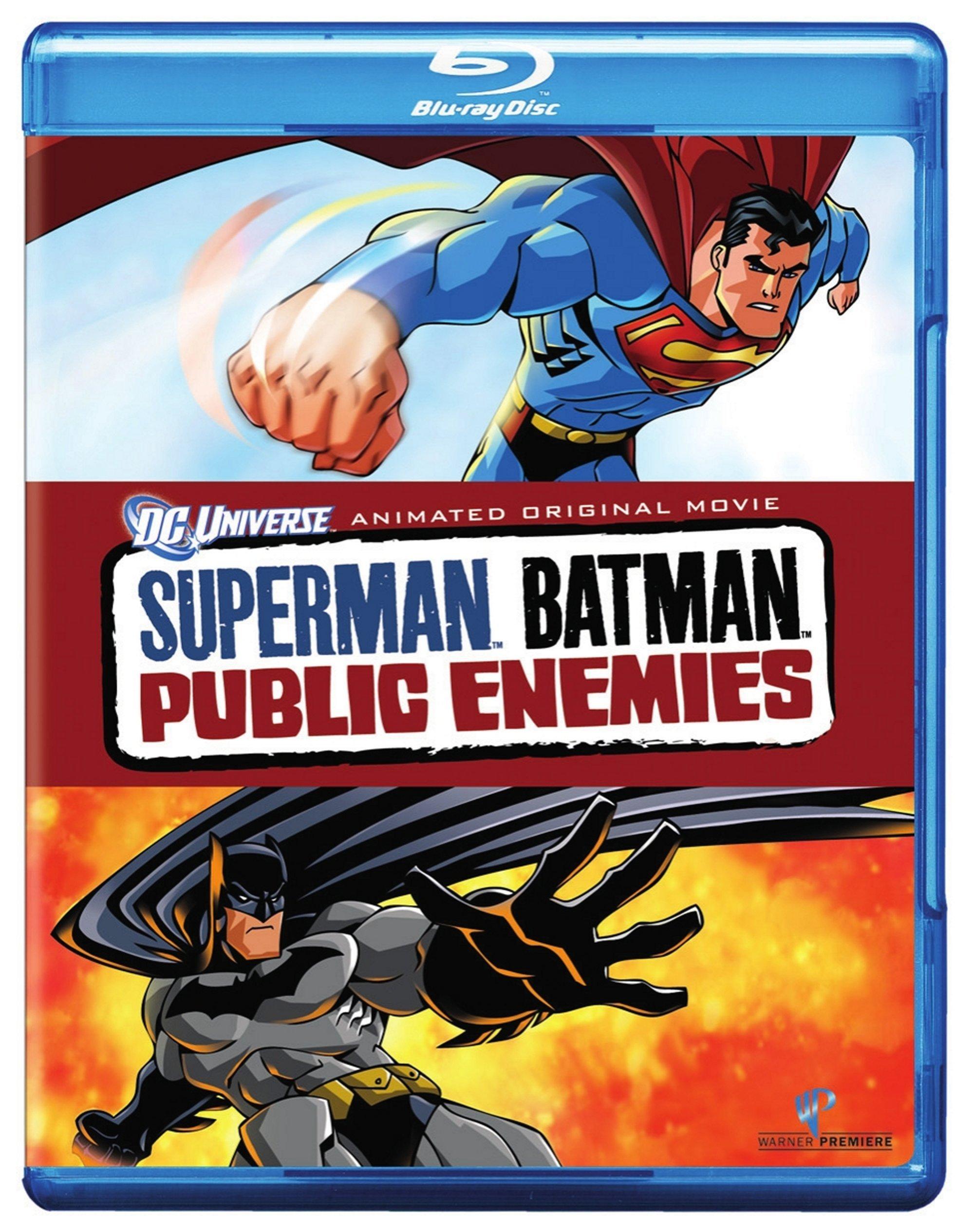 Blu-ray : Superman / Batman: Public Enemies (Widescreen, Dolby, AC-3, Dubbed, O-Card Packaging)