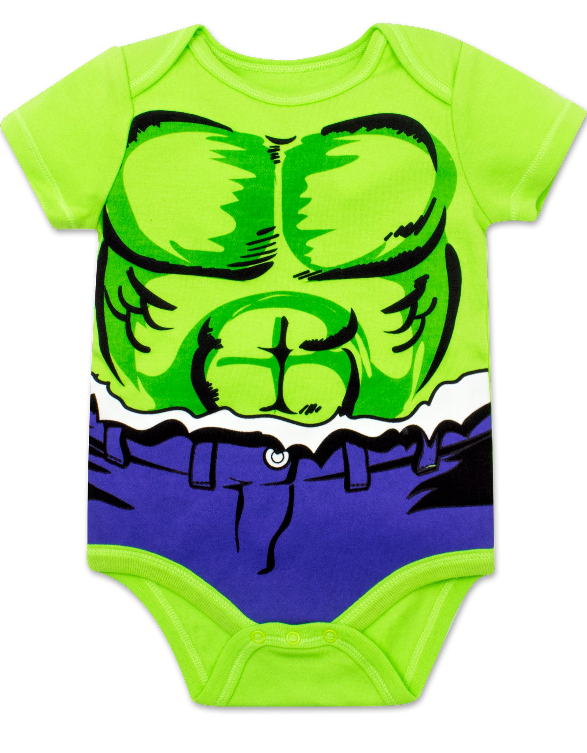 Marvel Baby Boys' 5 Pack Onesies - The Hulk, Spiderman, Iron Man and Captain America (3-6 Months) by Marvel (Image #2)