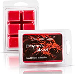 The Candle Daddy Dragon's Blood Scented Wax Melt - 2 Ounces - 6 Cubes - 1 Pack