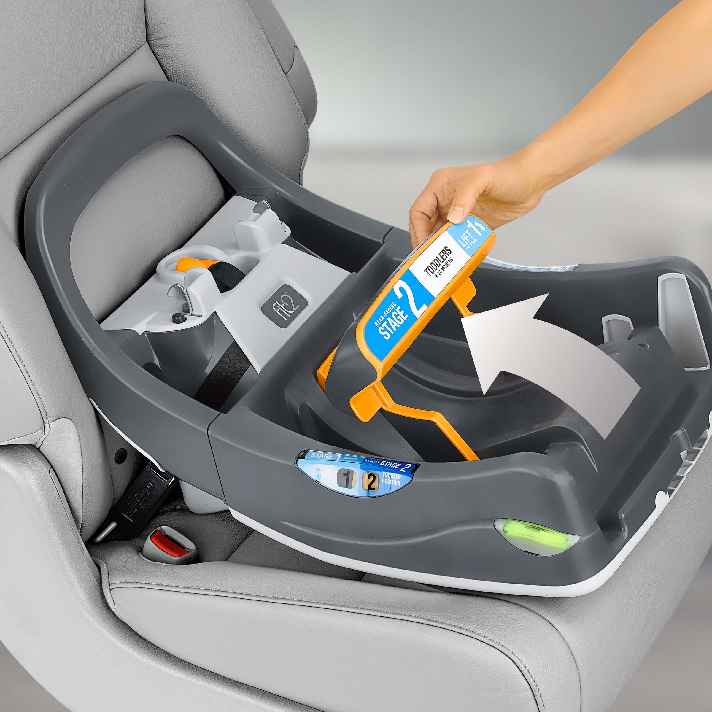 Chicco Fit2 Infant & Toddler Car Seat Base by Chicco (Image #4)