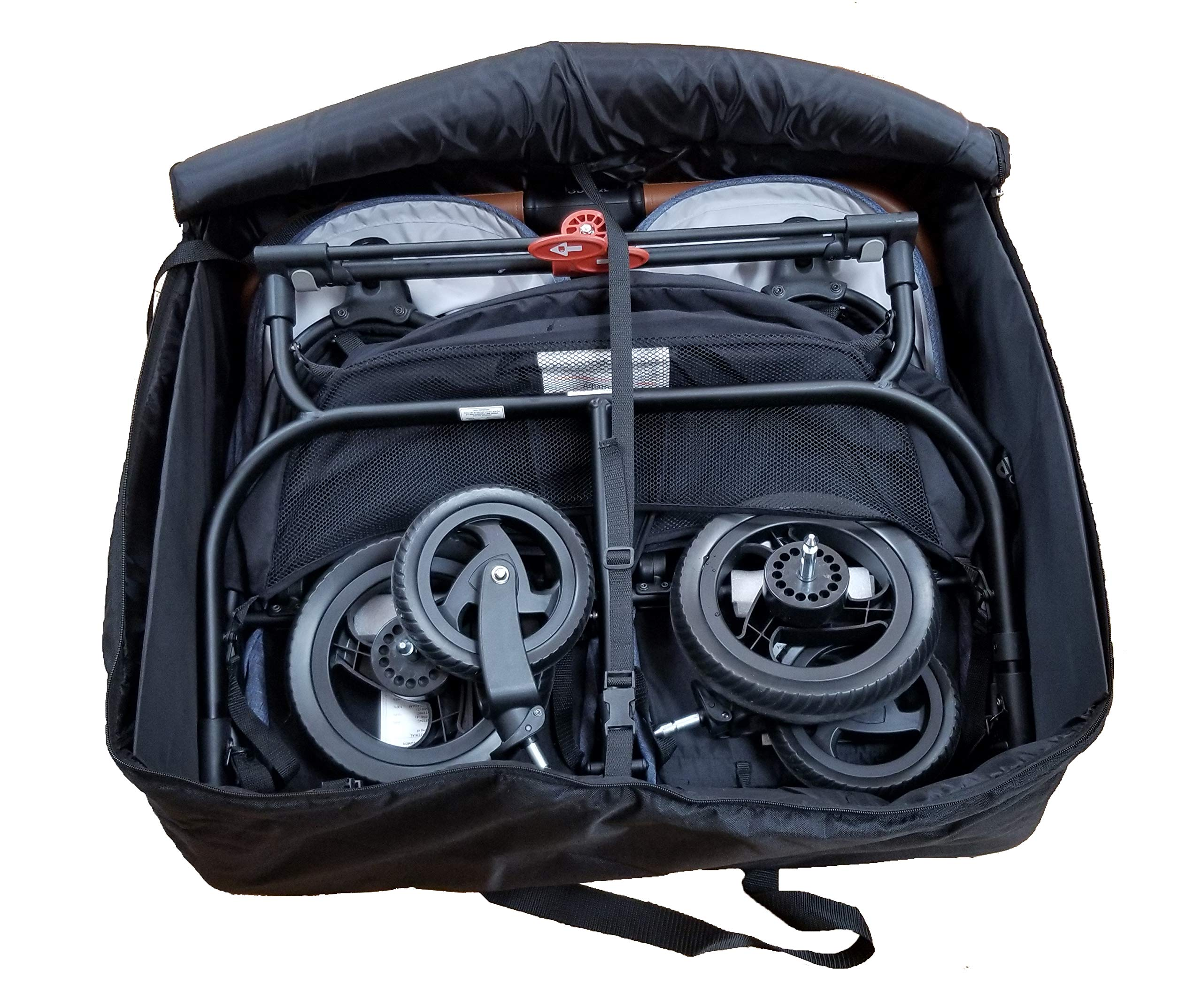 Universal Storage Bag for Single and Twin Strollers
