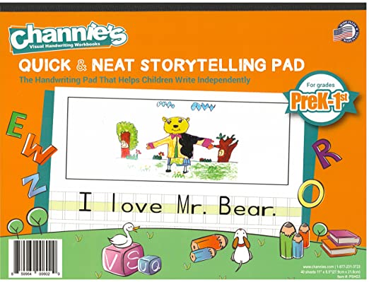 Counting Number worksheets handwriting worksheets for grade 2 : Amazon.com : Channie's Visual Handwriting Storytelling Workbooks ...