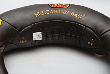 Amazon.com   Bulgarian Bag Suples Original Model - Genuine Leather (6 lbs)  - Free Instructional DVD Included! Fitness cb1e076c39117