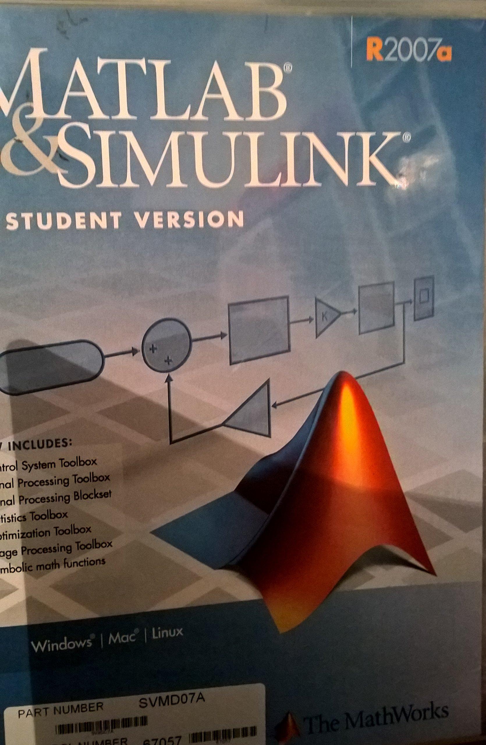 Mathworks: MATLAB Sim SV 07: 9780979223952: Amazon com: Books