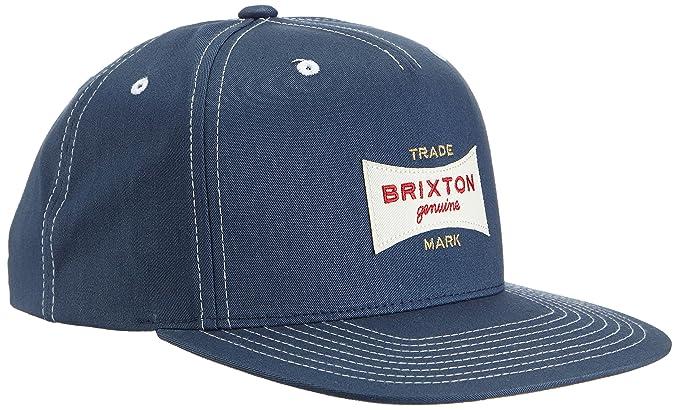 BRIXTON Cap Ramsey - Gorra para Hombre, Color Azul, Talla Talla ...