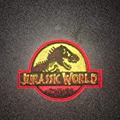 "Handbag Jeans Jacket Backpacks Caps 2.82/""height)Decorative Patches for Clothing Jurassic Park Detail Embroidered (Size: 3.86/""width Skirts Canvas Shoes"