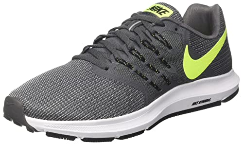 new concept ef1fb 0aeac Nike Mens Run Swift Running ShoeGrey-Blk(11 US10 UKEURO-45
