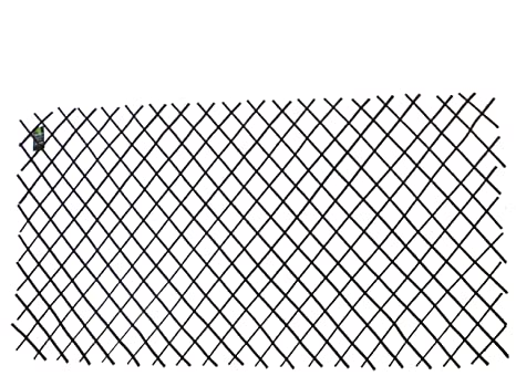 Master Garden Products Willow Expandable Trellis Fence, 72 By 48 Inch