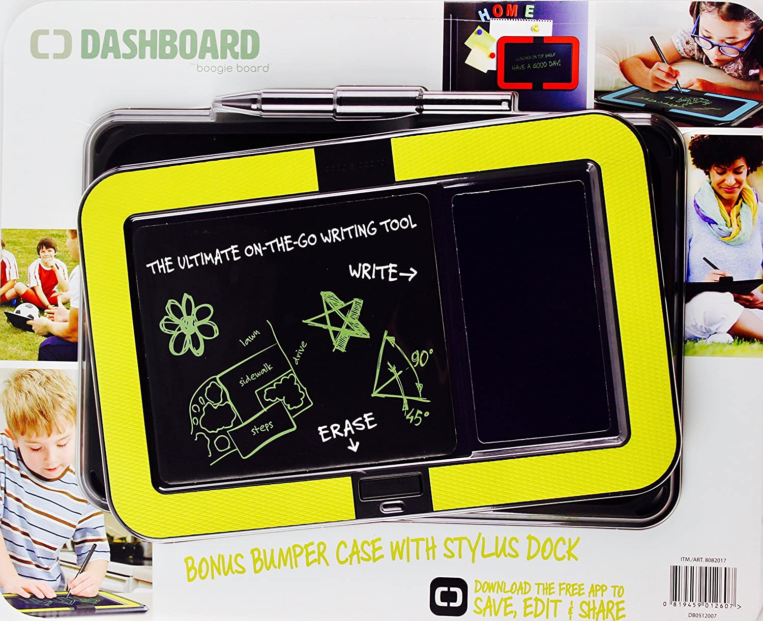 Boogie Board Dashboard Electronic Writing Tool with Case Kent Displays Inc. BHBUSAZIN027381