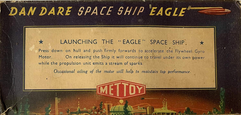 Vintage 1953 The Eagle Comics Dan Dare SS Space Ship Eagle Earth