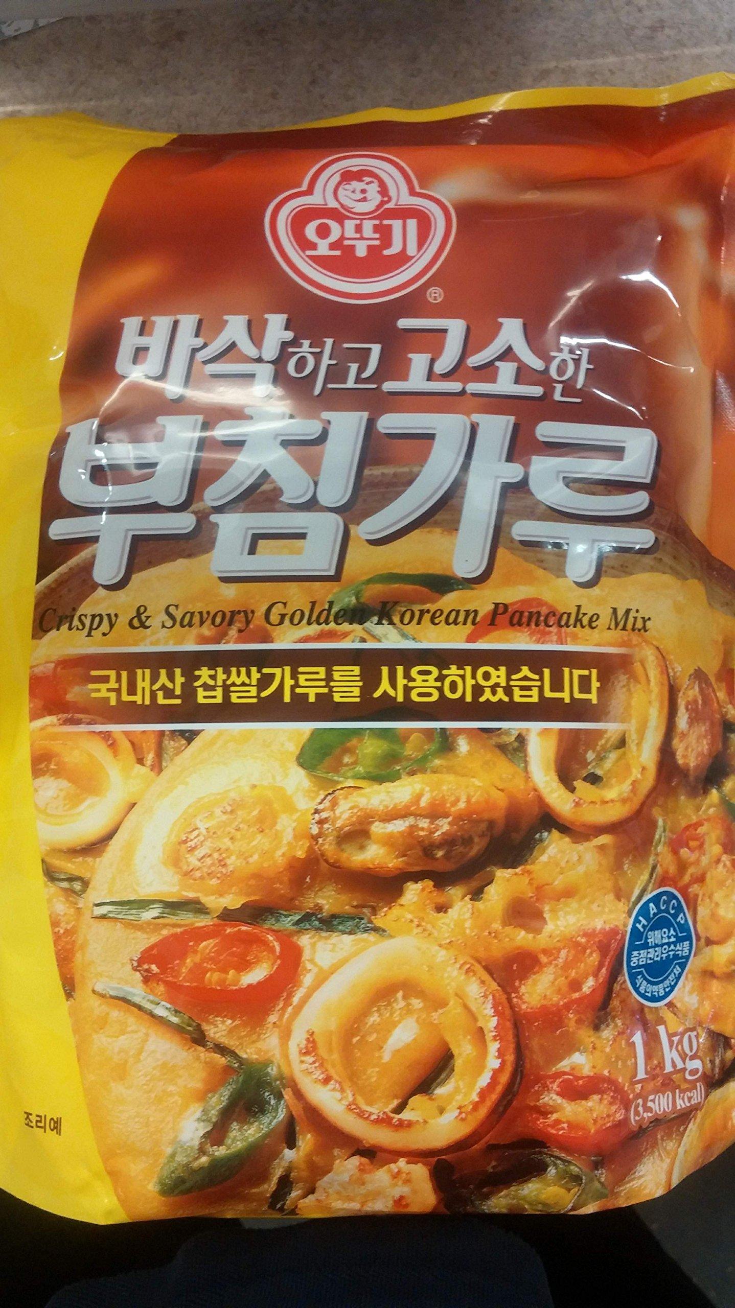 Ottogi Crispy & Savory Golden Korean Pancake Mix 1kg